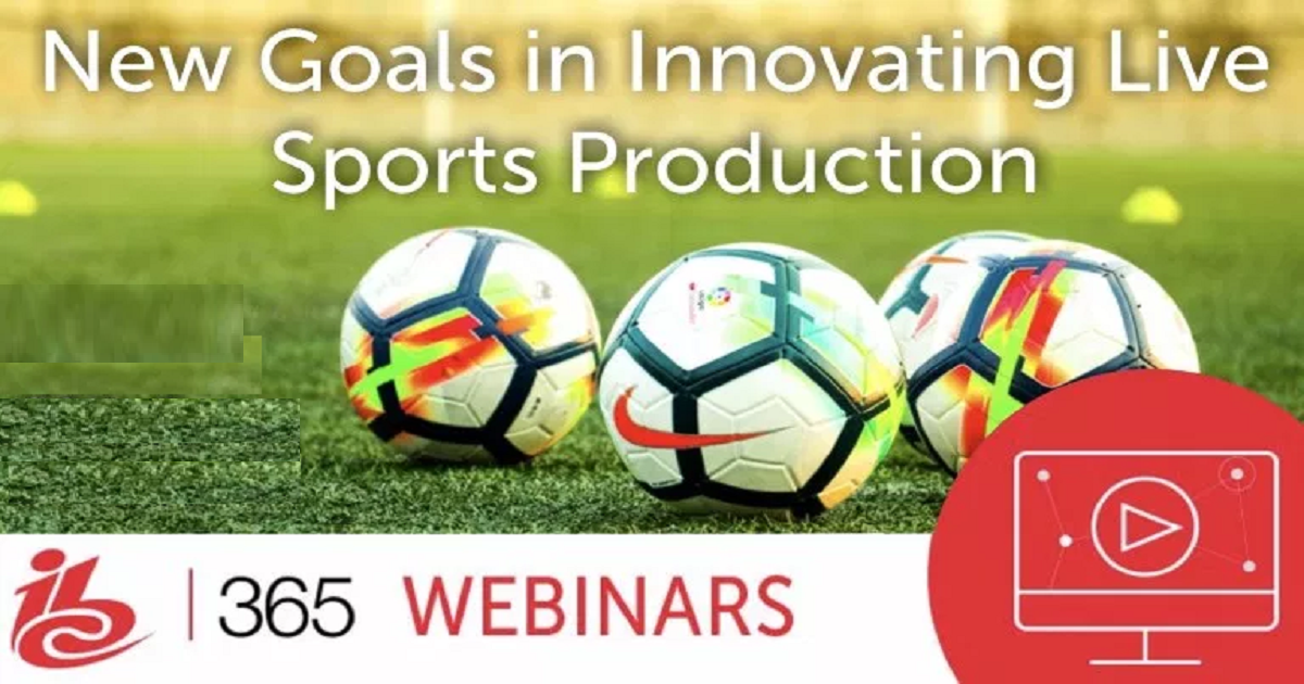 New Goals for Innovating Live Sports