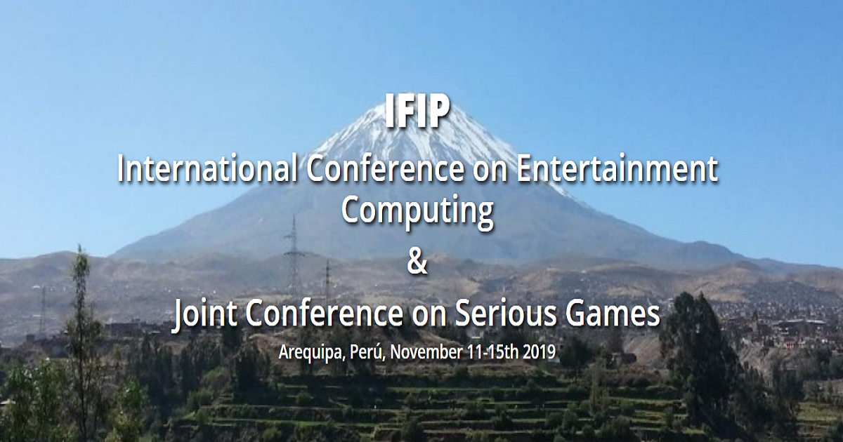 IFIP International Conference on Entertainment Computation & Joint Conference on Serious Games