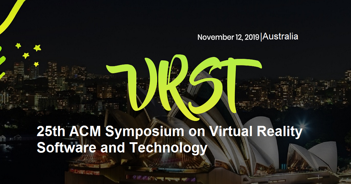 25th ACM Symposium on Virtual Reality Software and Technology