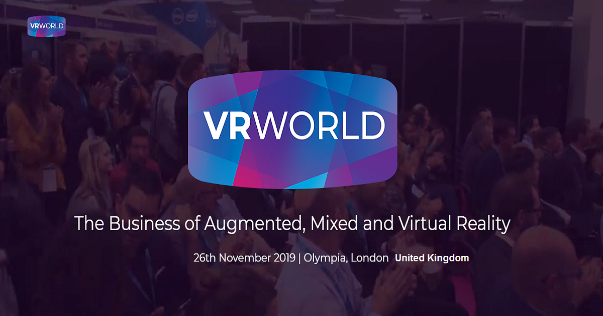 VR World 2019 conference