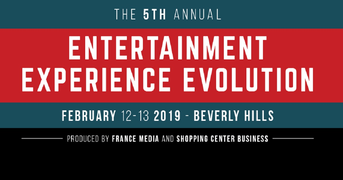 5th annual Entertainment Experience Evolution