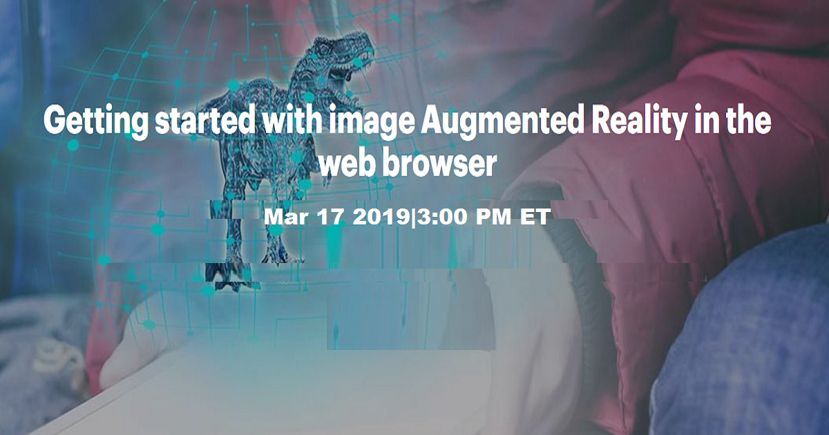 Getting started with image Augmented Reality in the web browser
