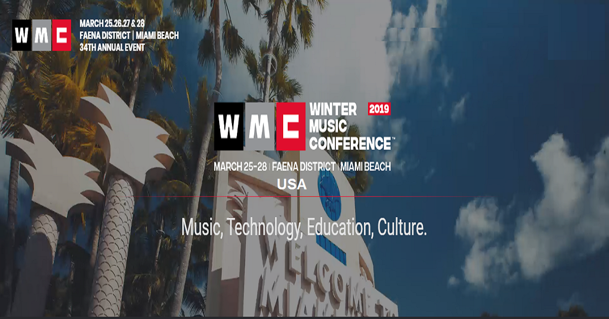 Winter Music Conference 2019