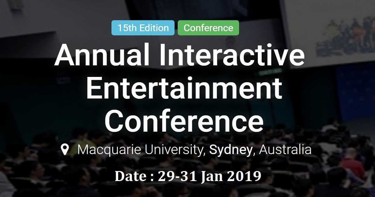 Annual Interactive Entertainment Conference