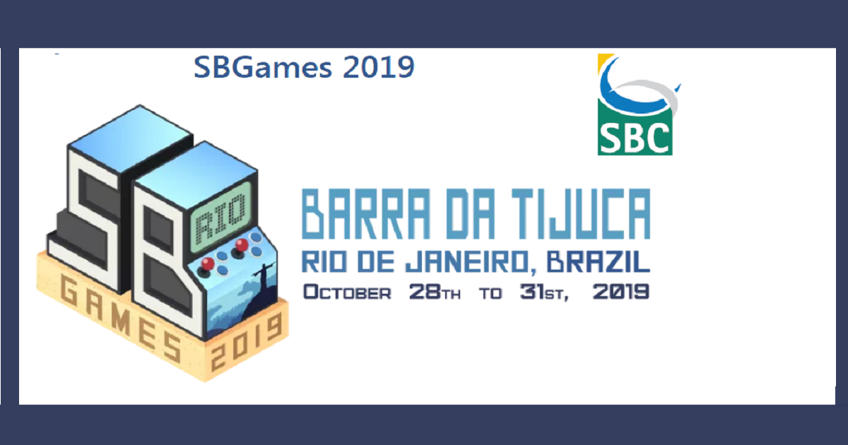SBGAMES 2019 : Brazilian Symposium on Computer Games and Digital Entertainment