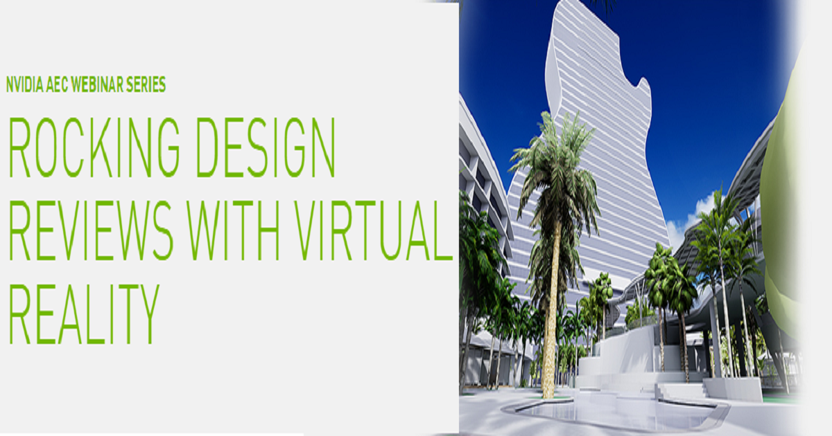 ROCKING DESIGN REVIEWS WITH VIRTUAL REALITY