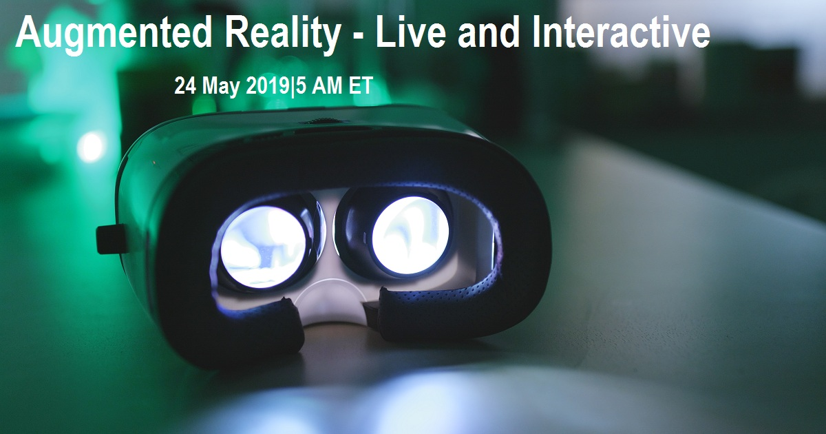 Augmented Reality - Live and Interactive
