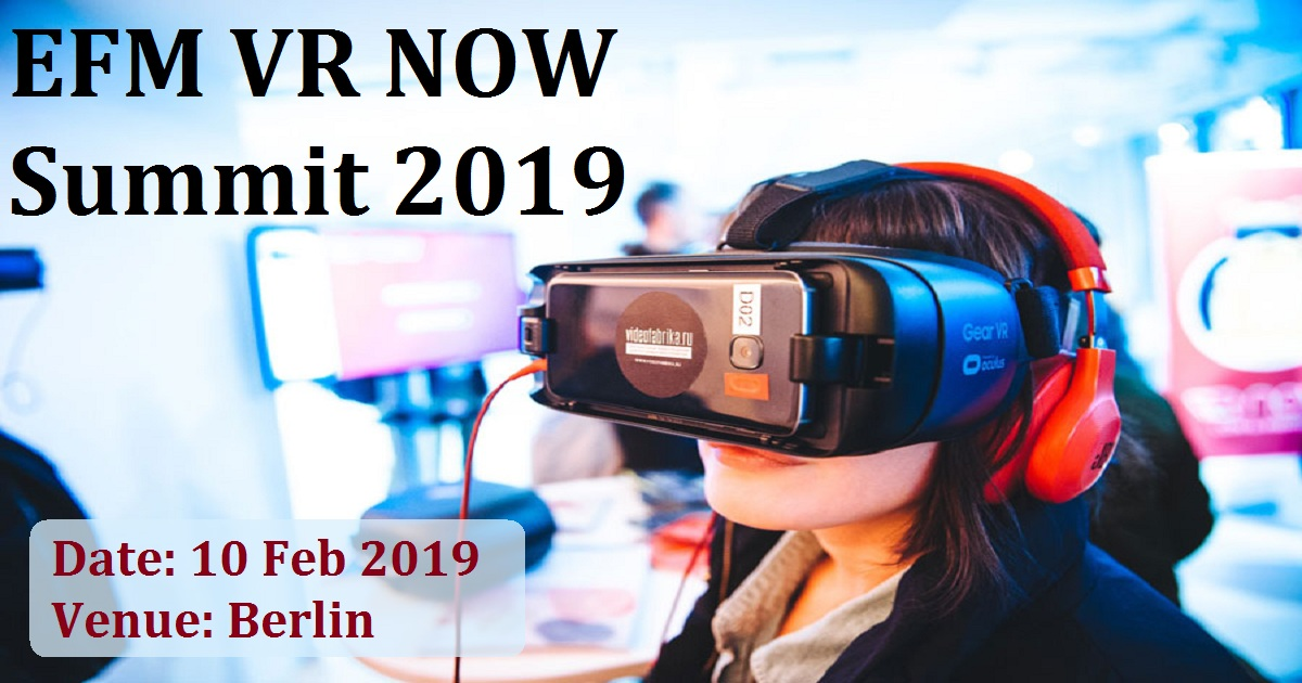 EFM VR NOW Summit