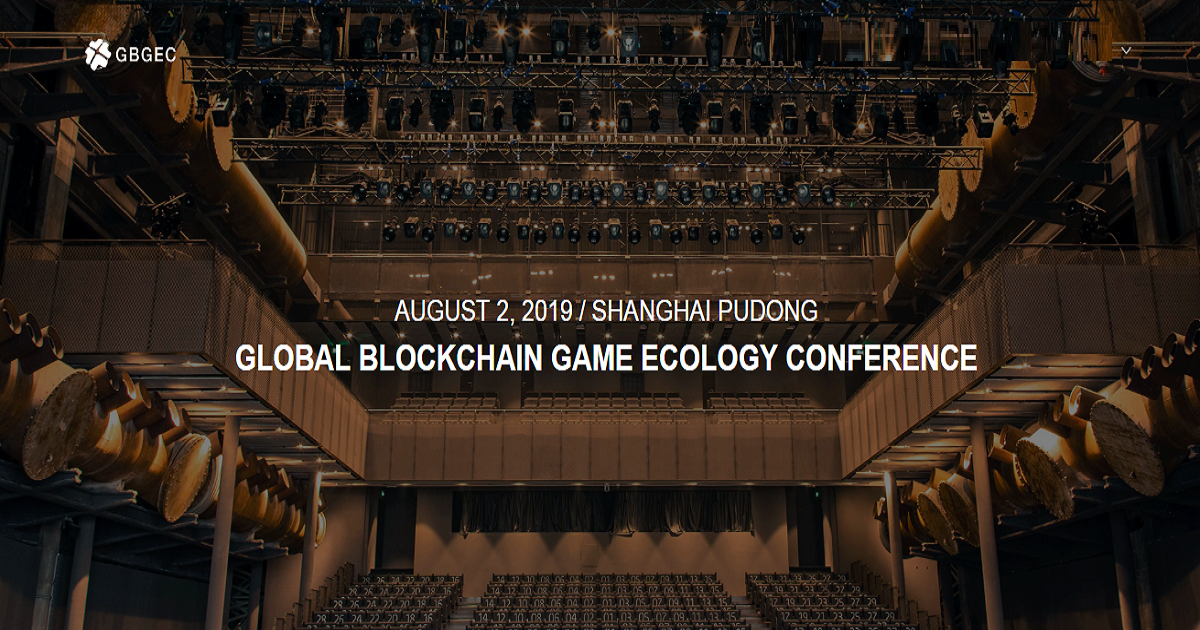 Global Blockchain Gaming Ecosystem Conference 2019