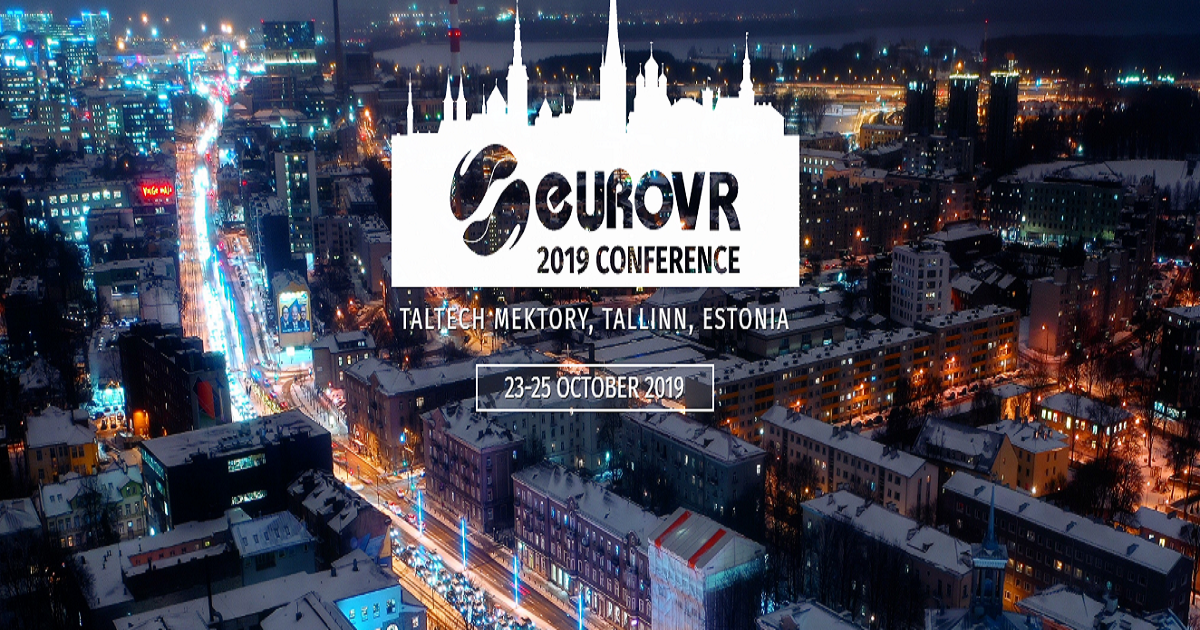 16th EuroVR International Conference—EuroVR 2019