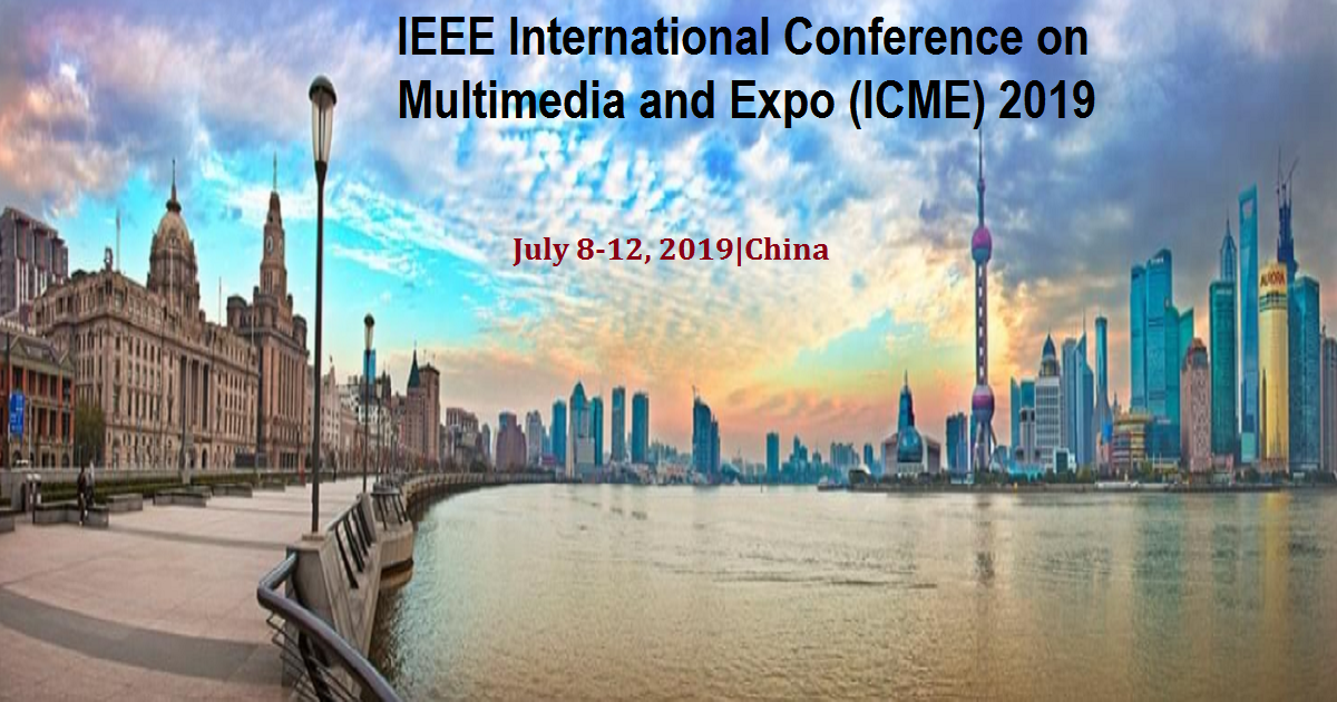 IEEE International Conference on Multimedia and Expo (ICME) 2019