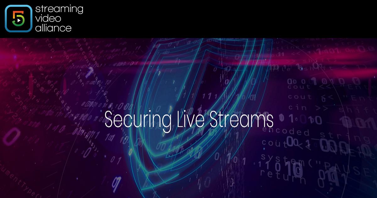 Securing Live Streams Online video