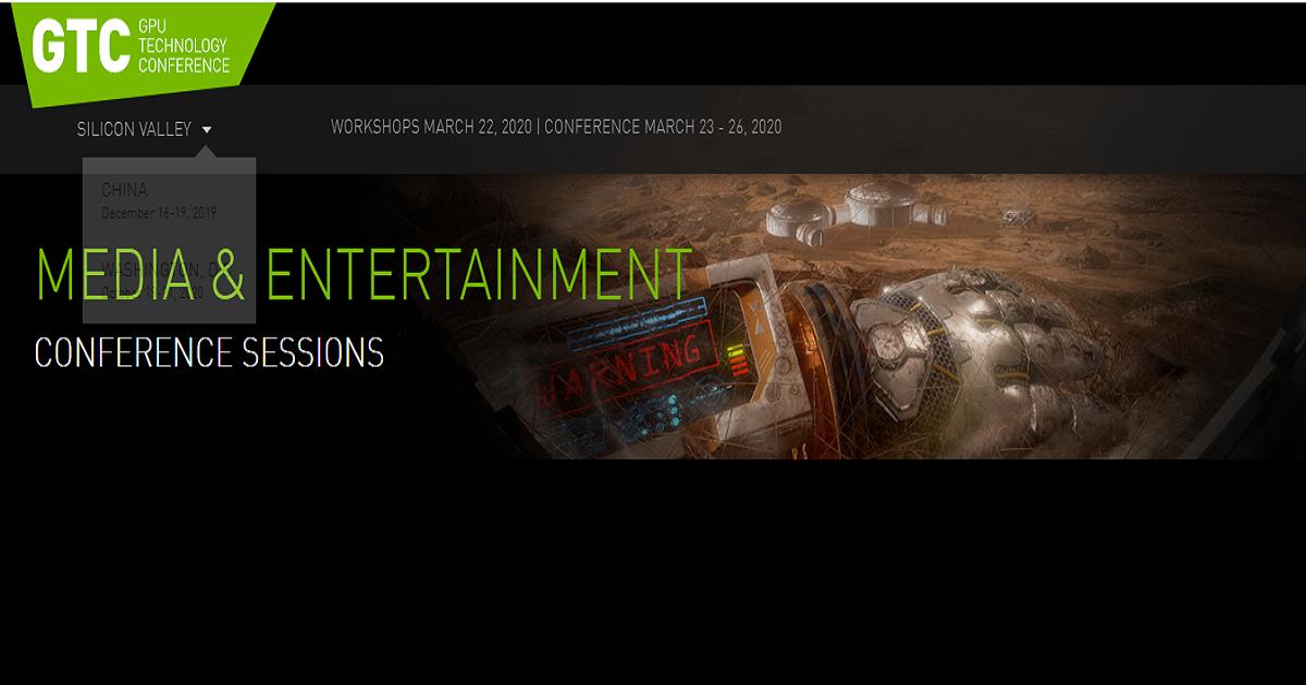 AI in Media And Entertainment NVIDIA GTC 2020