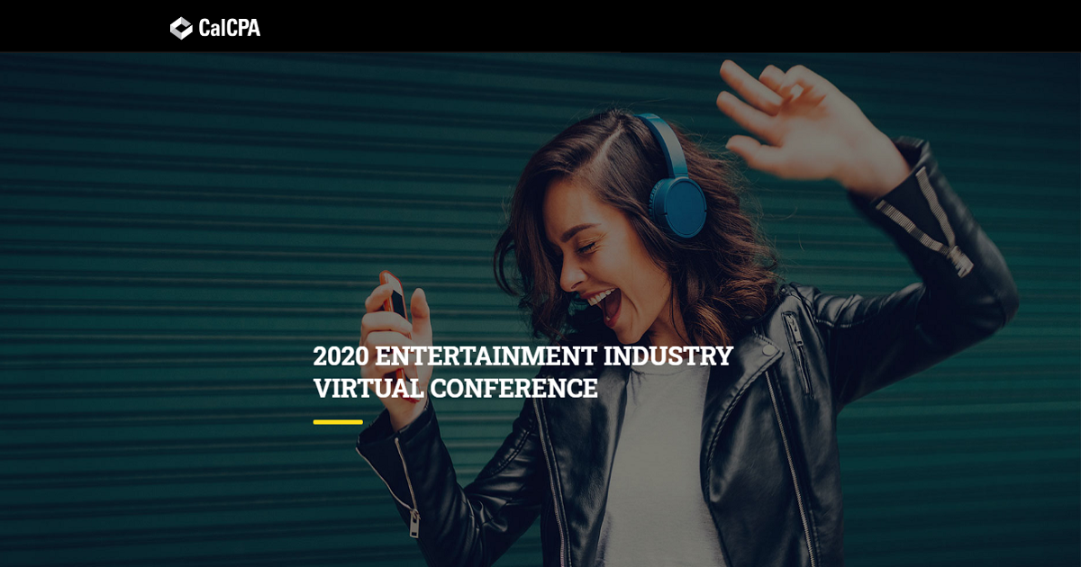 2020 ENTERTAINMENT INDUSTRY VIRTUAL CONFERENCE