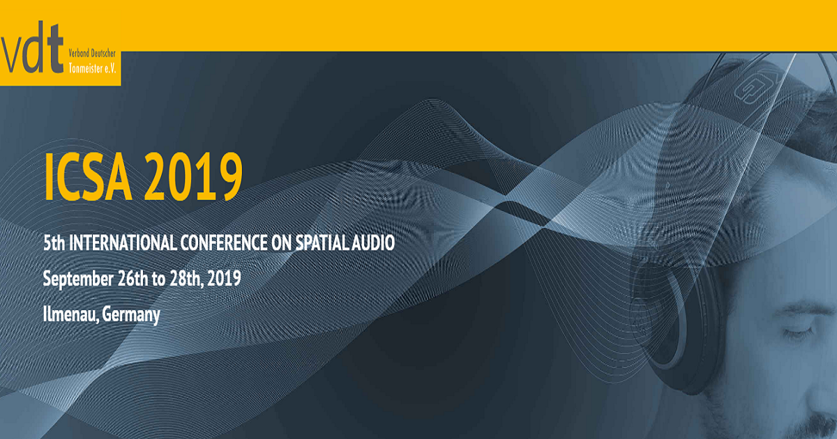 5th INTERNATIONAL CONFERENCE ON SPATIAL AUDIO