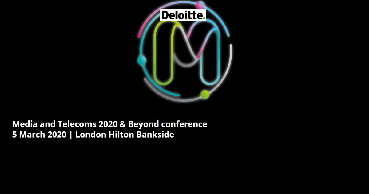 Media and Telecoms 2020 & Beyond conference