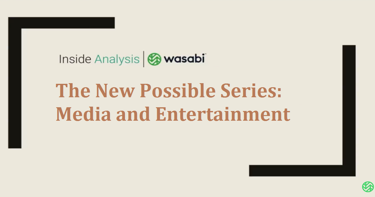 The New Possible Series: Media and Entertainment