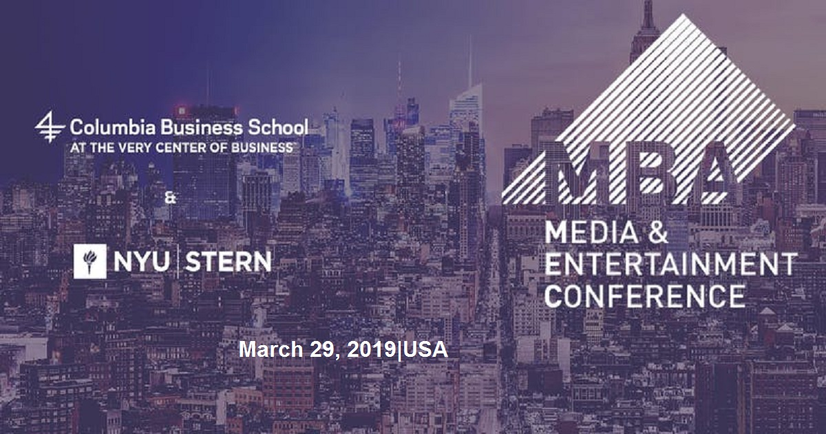 MBA Media and Entertainment Conference 2019