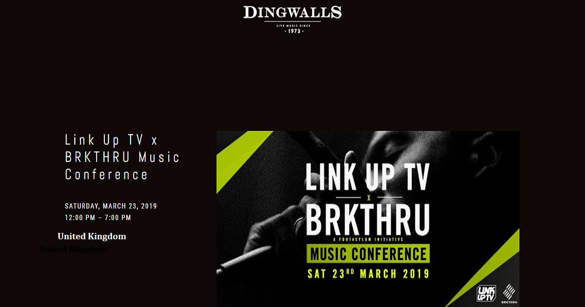 Link Up TV x BRKTHRU Music Conference