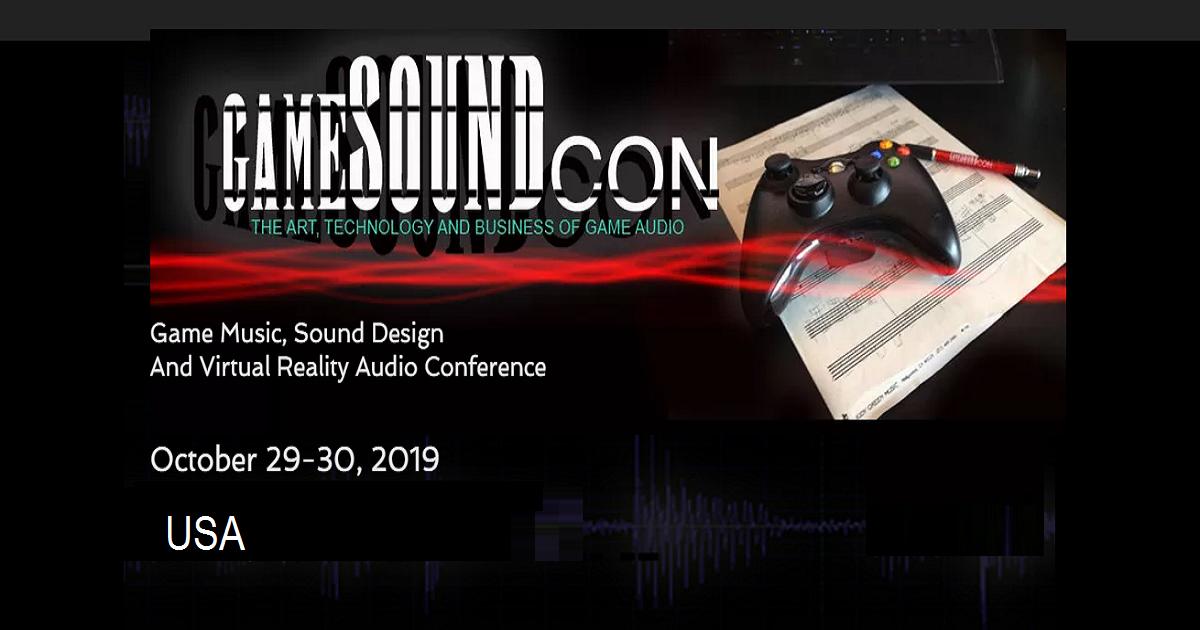 Game SoundCon 2019