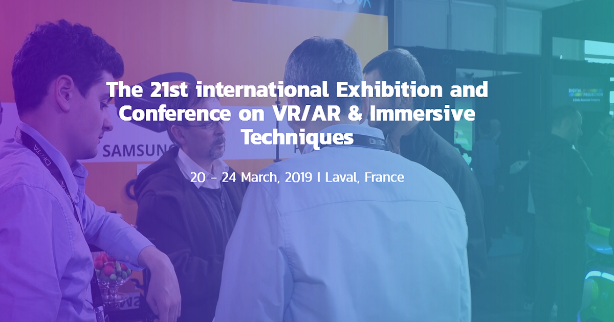 he 21st international Exhibition and Conference on VR/AR & Immersive Techniques