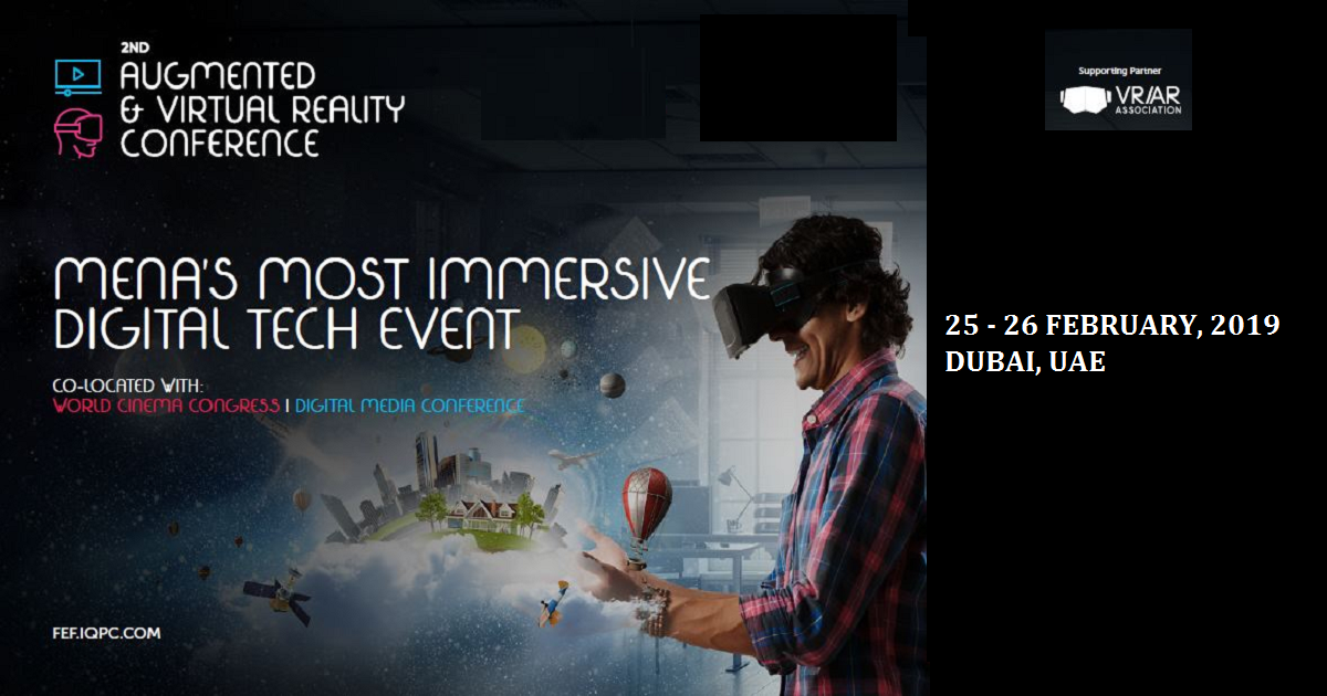 2nd Augmented & Virtual Reality Conference