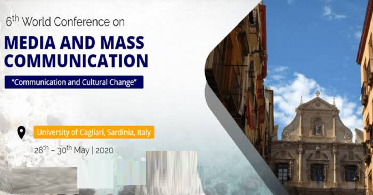 Sixth World  Conference on Media and Mass Communication