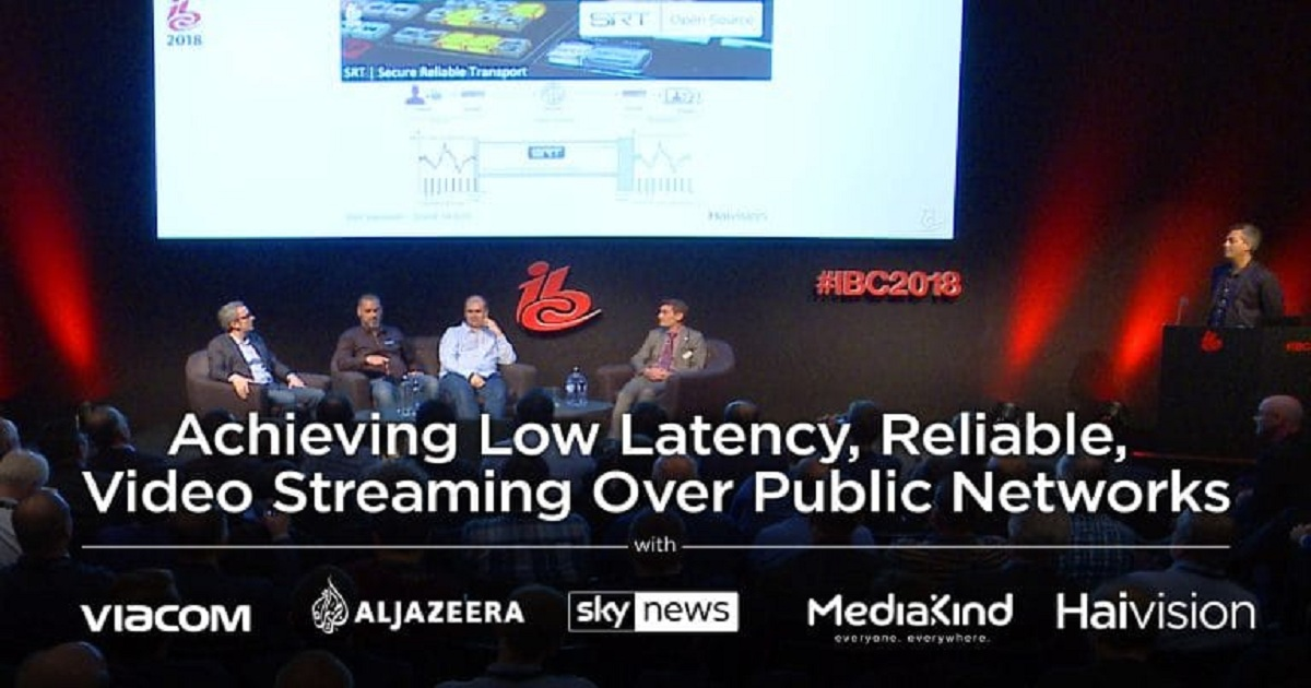 Reliable Video Streaming Over Public Networks with SRT