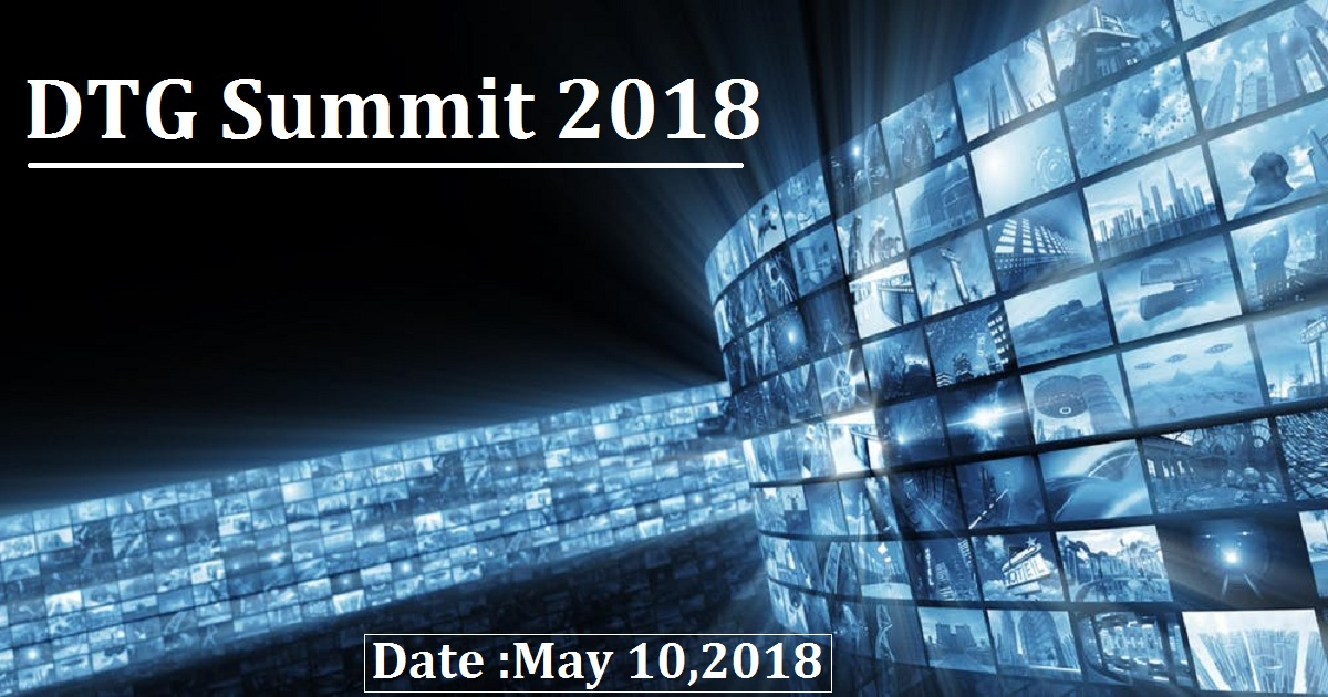 DTG Summit 2018