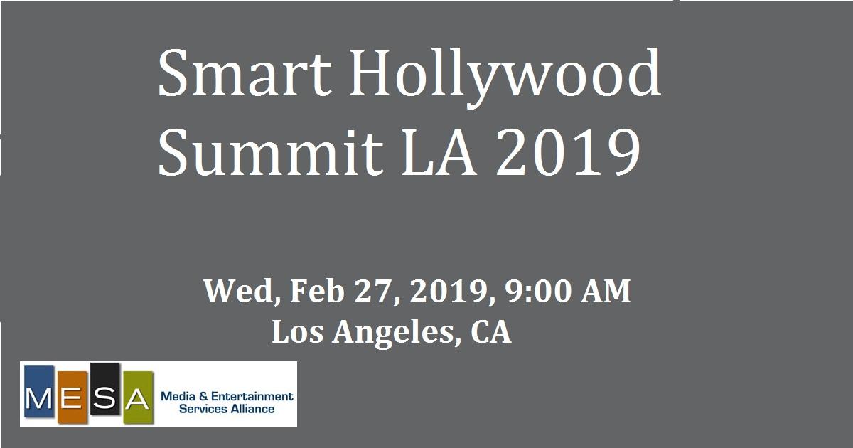Smart Hollywood Summit LA 2019