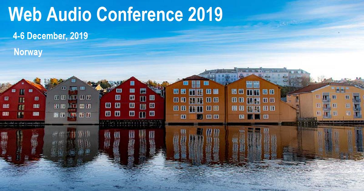 Web Audio Conference 2019