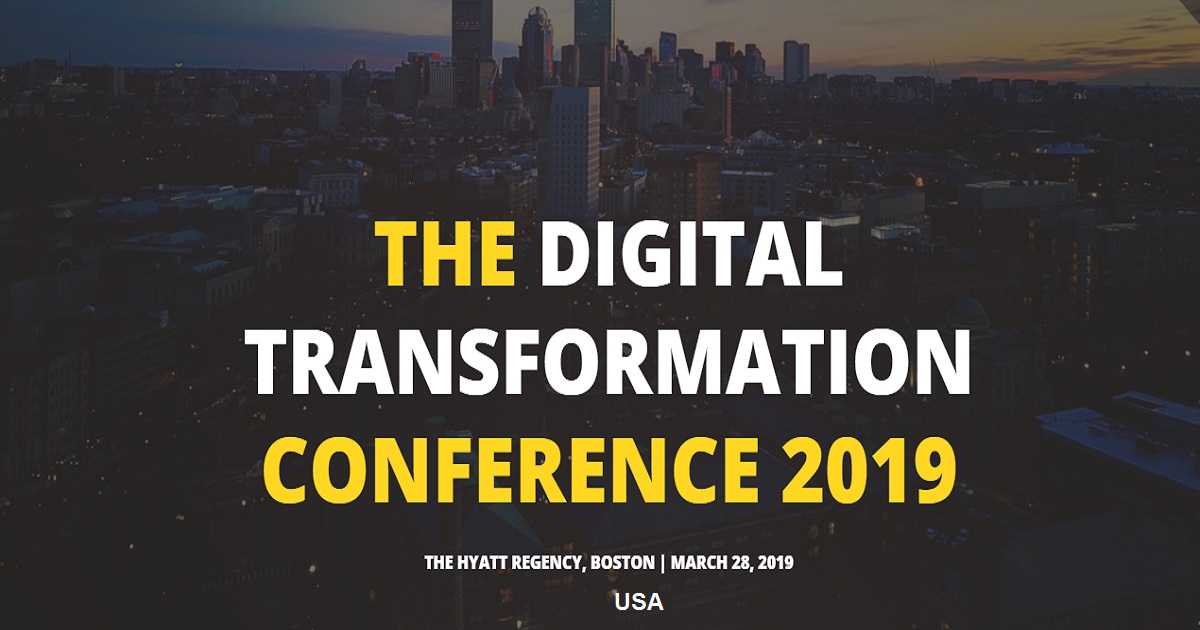 THE DIGITAL TRANSFORMATION CONFERENCE 2019