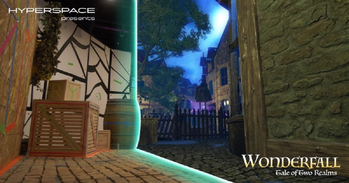 WONDERFALL MIXES VR AND ACTUAL REALITY FOR AN EXPERIENCE YOU CAN TOUCH