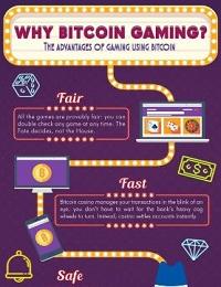 WHY BITCOIN GAMING -THE ADVANTAGES OF GAMING USING BITCOIN