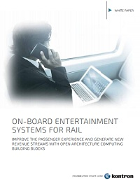 ON-BOARD ENTERTAINMENT SYSTEMS FOR RAIL