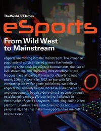 THE WORLD OF GAMES ESPORTS FROM WILD WEST TO MAINSTREAM