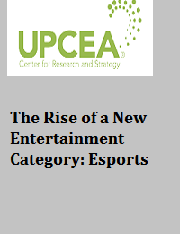 THE RISE OF A NEW ENTERTAINMENT CATEGORY: ESPORTS