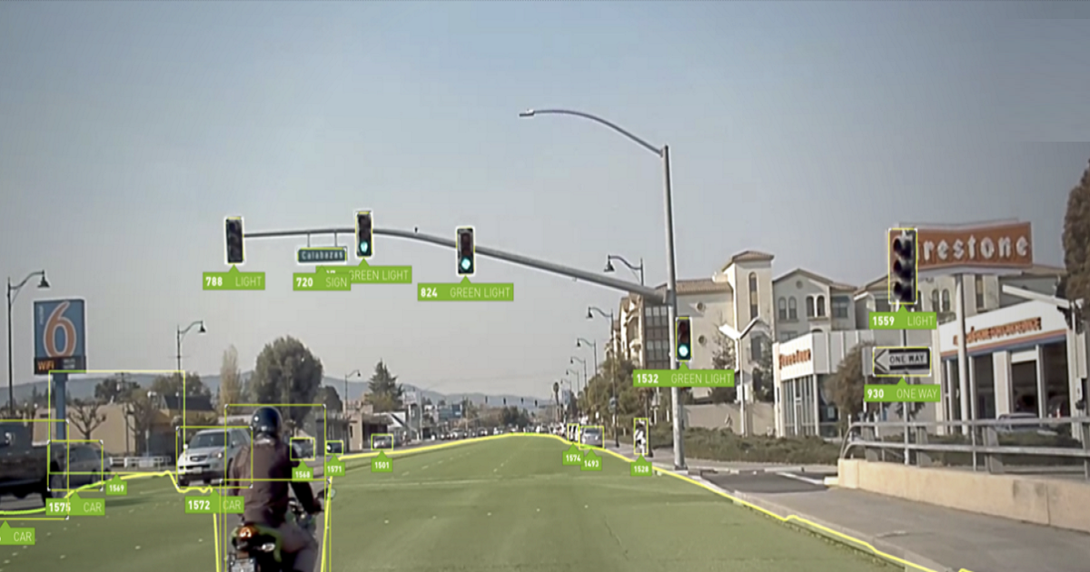DRIVE SOFTWARE 8.0 ENABLES SURROUND PERCEPTION, AR FOR SAFE AUTOMATED DRIVING