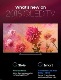 [INFOGRAPHIC] WHAT'S NEW IN THE 2018 QLED TVS