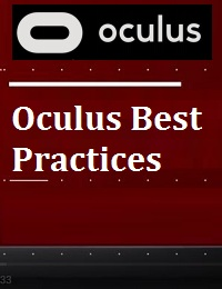 OCULUS BEST PRACTICES