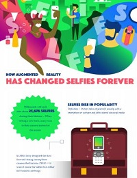 HOW AUGMENTED REALITY IS CHANGING THE SELFIE GAME (INFOGRAPHIC)