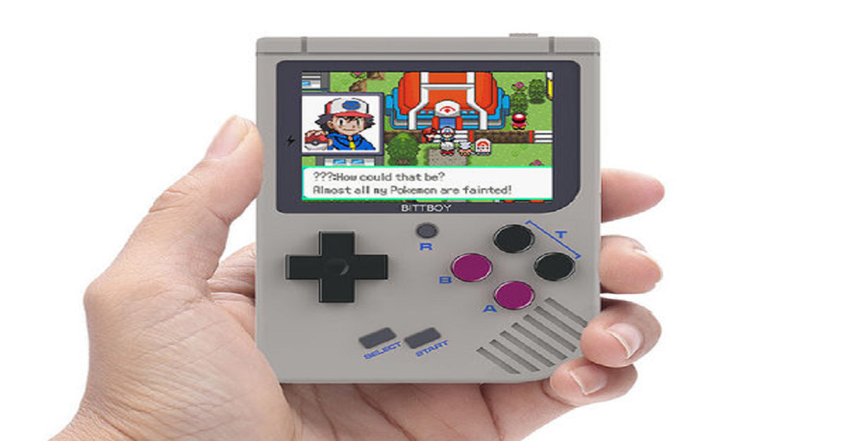 PLAY YOUR FAVORITE GAMES ON THE GO WITH THIS RETRO SYSTEM