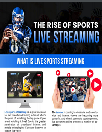 THE RISE OF SPORTS LIVE STREAMING