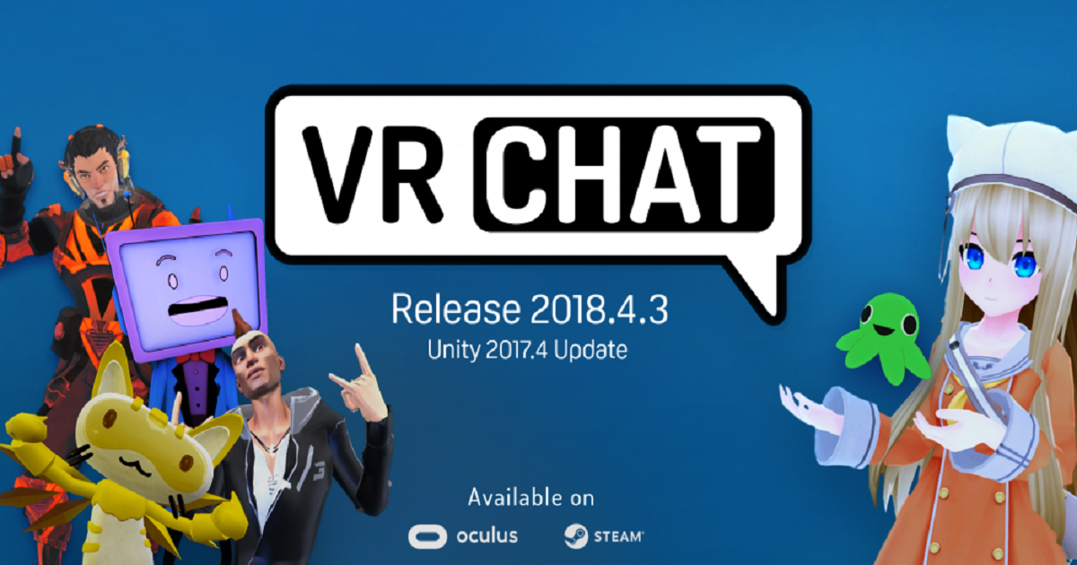 VRCHAT IS FINALLY AVAILABLE ON THE OCULUS STORE