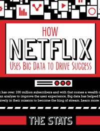 INFOGRAPHIC: HOW NETFLIX USES BIG DATA TO DRIVE SUCCESS