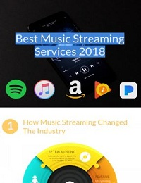 THE BEST MUSIC STREAMING SERVICES IN 2018 [INFOGRAPHIC]