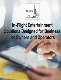 IN-FLIGHT ENTERTAINMENT SOLUTIONS DESIGNED FOR BUSINESS JET OWNERS AND OPERATORS