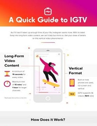 SOCIAL MEDIA OPTIMIZATION: A QUICK GUIDE TO IGTV (INFOGRAPHIC)
